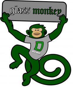 glass monkey