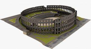 Amphitheater Pula 3d Arena